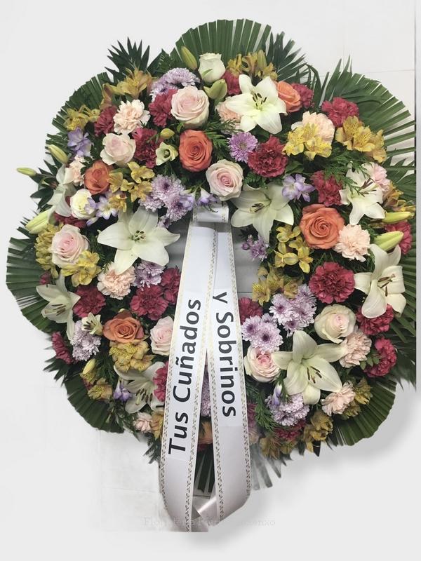 flores para defuncion envio tanatorio