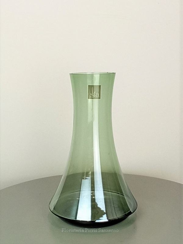 jarrón cristal SIA