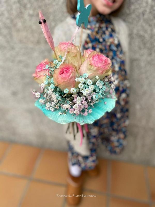 flores para niños