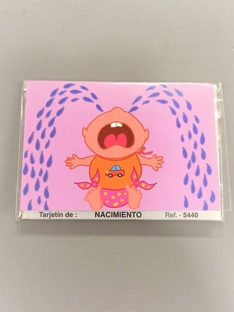 tarjeta mensaje nacimiento