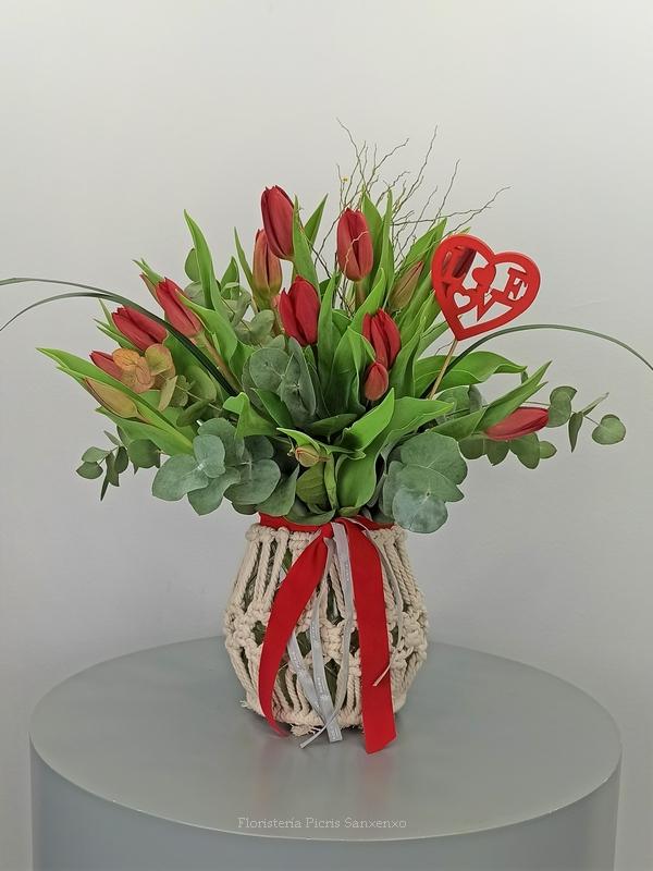tulipan macramé