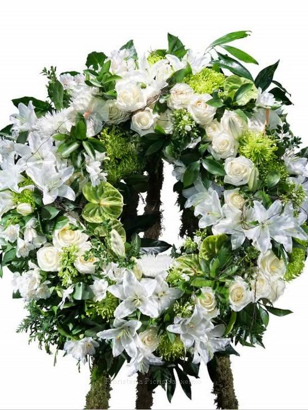 corona blanca funeral